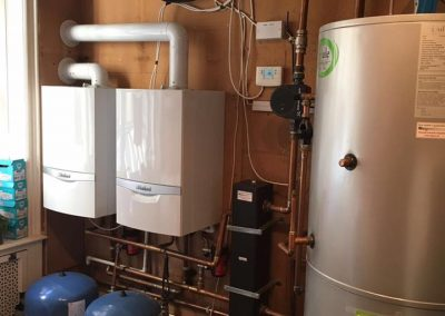 Completion of boiler refit